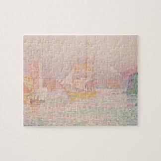 Paul Signac- The Harbour at Marseilles Jigsaw Puzzles