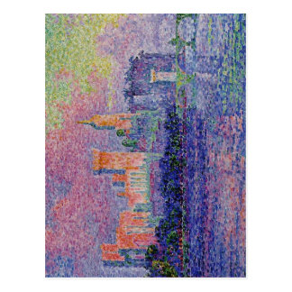 Paul Signac: The Papal Palace, Avignon, 1900 Paul Postcard