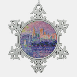 Paul Signac- The Papal Palace, Avignon Ornament