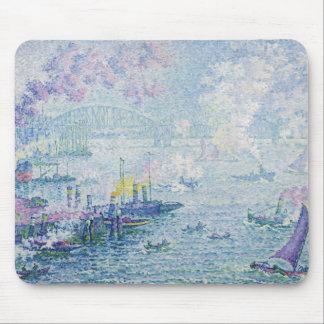 Paul Signac - The Port of Rotterdam Mouse Pad