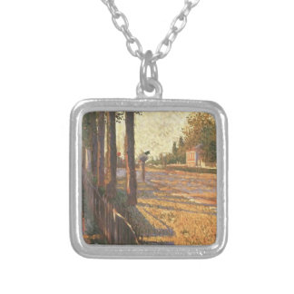 Paul Signac- The Railway at Bois Colombes Jewelry
