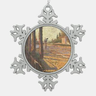 Paul Signac- The Railway at Bois Colombes Ornaments