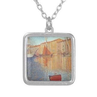 Paul Signac- The Red Buoy, Saint Tropez Custom Jewelry