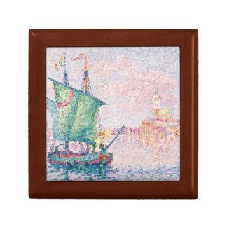 Paul Signac - Venice, The Pink Cloud Jewelry Box