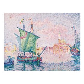 Paul Signac- Venice, The Pink Cloud Post Cards