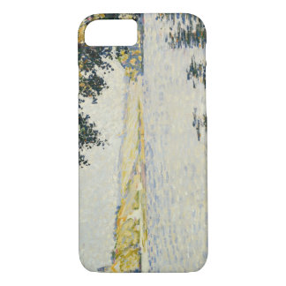 Paul Signac - View of the Seine at Herblay iPhone 7 Case