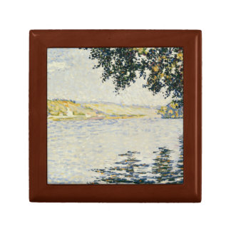 Paul Signac - View of the Seine at Herblay Jewelry Box