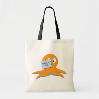 "Paul the Octopus ""Grill me"" Tote Bag"
