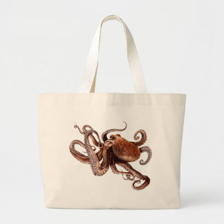 Paul The Octopus Large Tote Bag