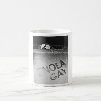 Paul Tibbets In The Enola Gay Bomber -- WW2 Coffee Mug