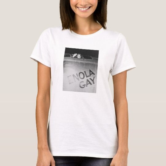 Paul Tibbets In The Enola Gay Bomber -- WW2 T-Shirt