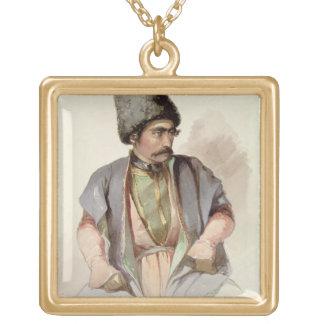 Paul - un georgiano de Tiflis, 1852 Colgante Cuadrado