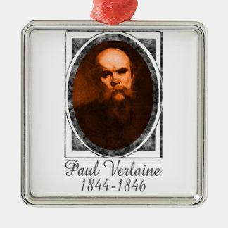 Paul Verlaine Metal Ornament