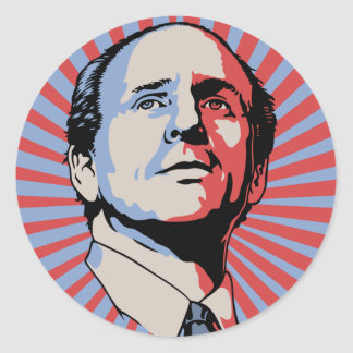 Paul Wellstone Classic Round Sticker