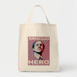 Paul Wellstone Grocery Tote Bag