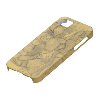 Paula Becker: Five children on the edge of meadow iPhone 5 Cover