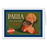 Paula Brand from Santa Paula Card