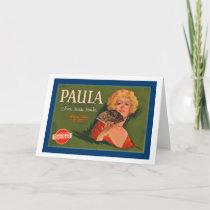 Paula Brand from Santa Paula Holiday Card