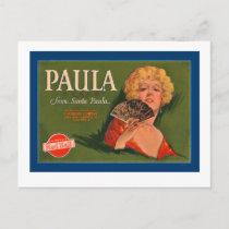 Paula Brand from Santa Paula Holiday Postcard