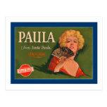 Paula Brand from Santa Paula Post Card