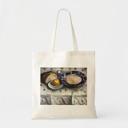 Paula Modersohn-Becker Breakfast Buffet 1905 Egg Budget Tote Bag