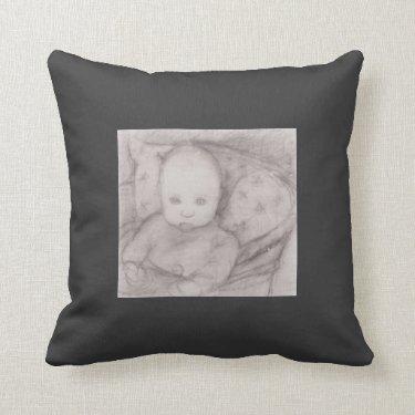 Paula Modersohn-Becker: Infant in seat Pillow