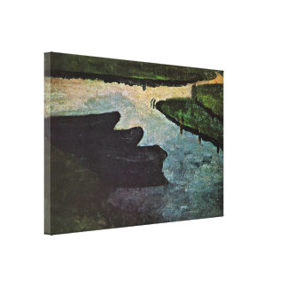 Paula Modersohn-Becker - Moorkanal Impresiones De Lienzo