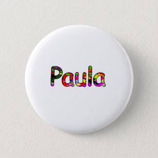 Paula Pinback Button