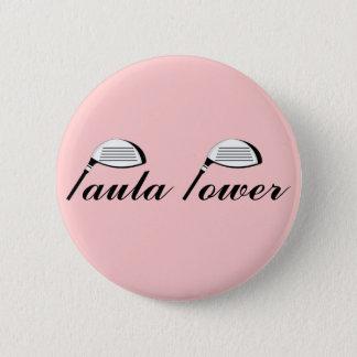 Paula Power - Paula Creamer Pinback Button