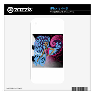 Paula's Cosmic Birthday Party Decal For The iPhone 4S