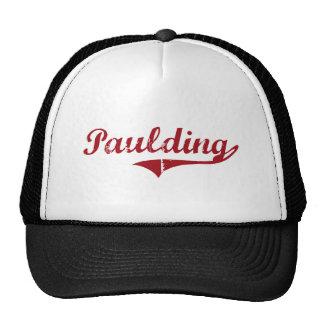 Paulding Ohio Classic Design Trucker Hat