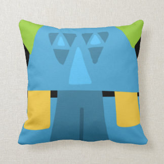 Pauli Pyramid Throw Pillow