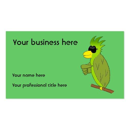 Paulie Business Card