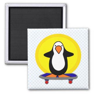 Paulie Penguin 2 Inch Square Magnet