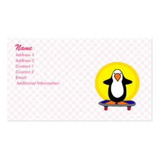 Paulie Penguin Business Card