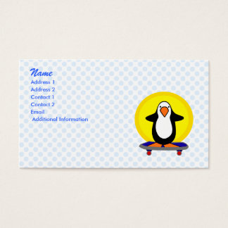 Paulie Penguin Business Card