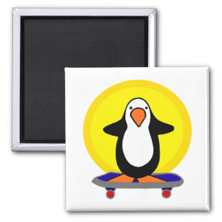 Paulie Penguin Fridge Magnets
