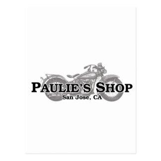 Paulie's Shop Postcard