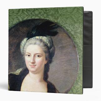 """Paulina-Felicite de Nesle Countess Carpeta 1 1/2"""""""