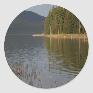 Paulina Lake, Oregon Classic Round Sticker