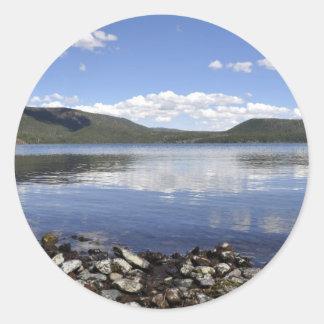 Paulina Lake Classic Round Sticker