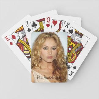 Paulina Rubio Classic Playing Cards