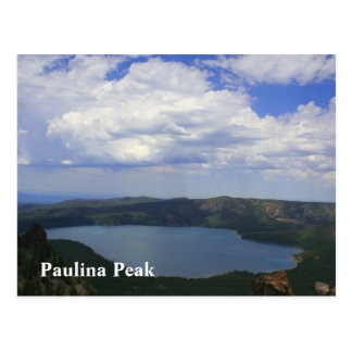 Paulina's Peaking Postcard