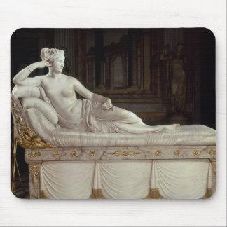 Pauline Bonaparte  as Venus Triumphant, c.1805-08 Mouse Pad
