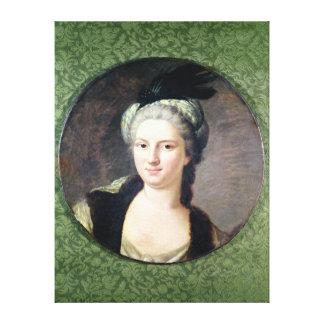 Pauline-Felicite de Nesle  Countess Canvas Print