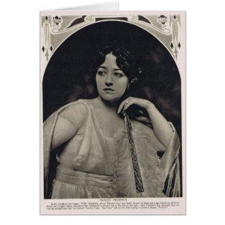 Pauline Frederick 1918 Card