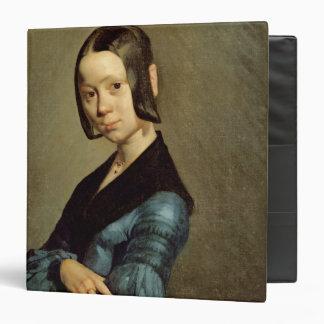 Pauline Ono  in Blue, 1841-42 3 Ring Binders