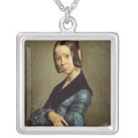 Pauline Ono  in Blue, 1841-42 Personalized Necklace