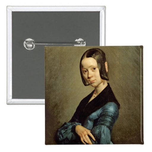 Pauline Ono  in Blue, 1841-42 Pins