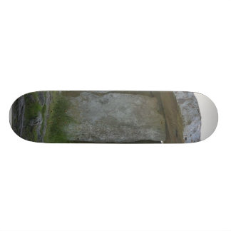 Paulnabrone Tombs Dolmens Burren Rocks Custom Skateboard